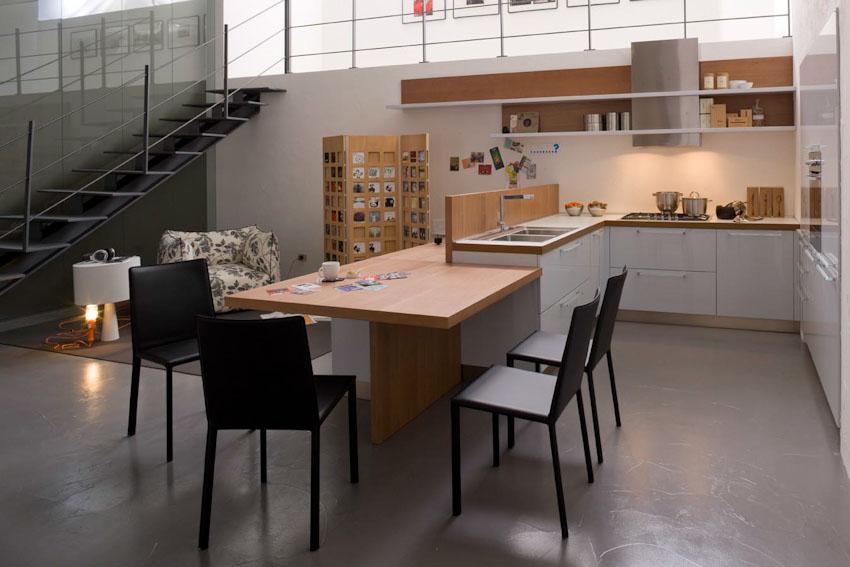 Cucina soggiorno open space 25 mq idea creativa della - Soggiorno open space ...