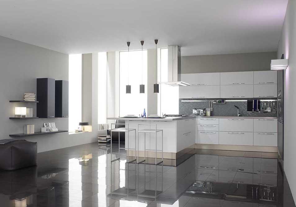Sartoria dei mobili home page cucina modello carrerago for Cucina living