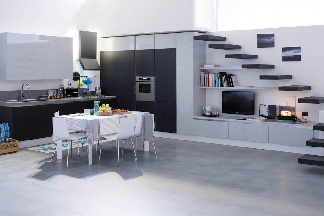 Sartoria dei mobili home page cucina modello vintage for Cucina living