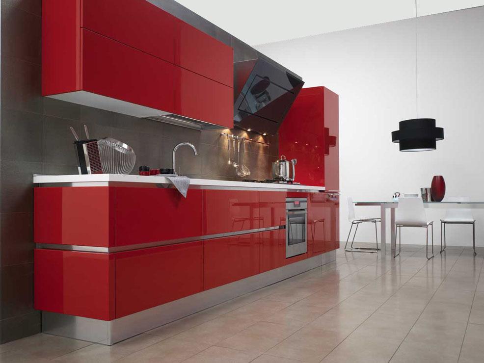 cucina rossa arredamento cucina : SARTORIA DEI MOBILI - HOME PAGE - cucina-extra-laccato-Veneta-Cucine