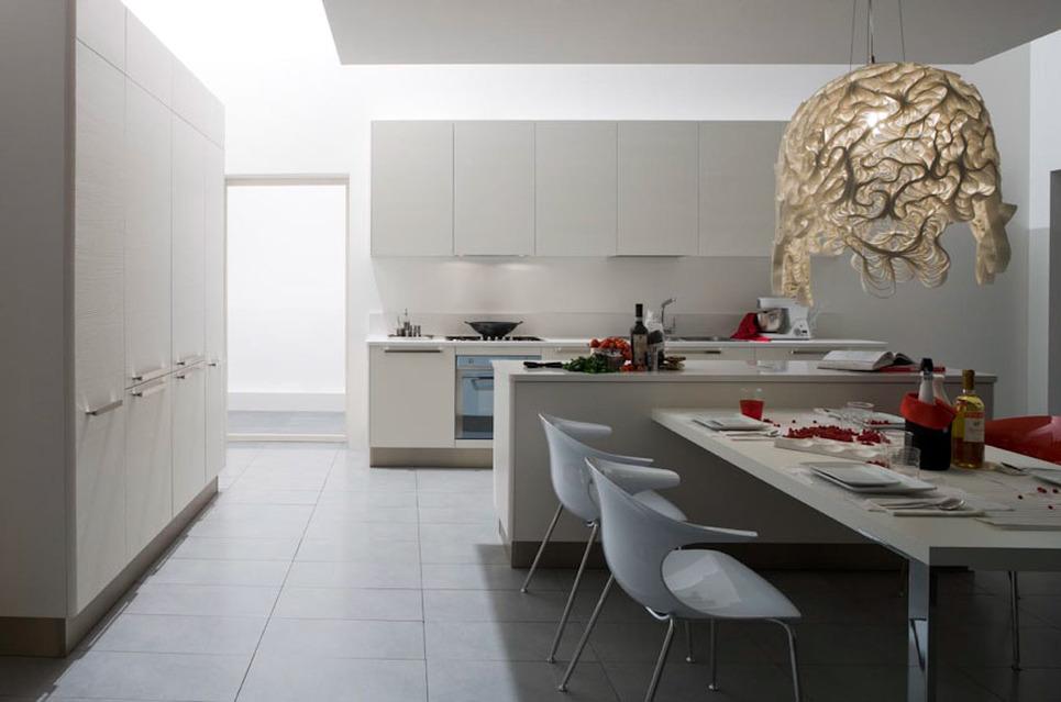Sartoria dei mobili home page cucina oyster decorativo veneta cucine - Cucina laccato bianco ...