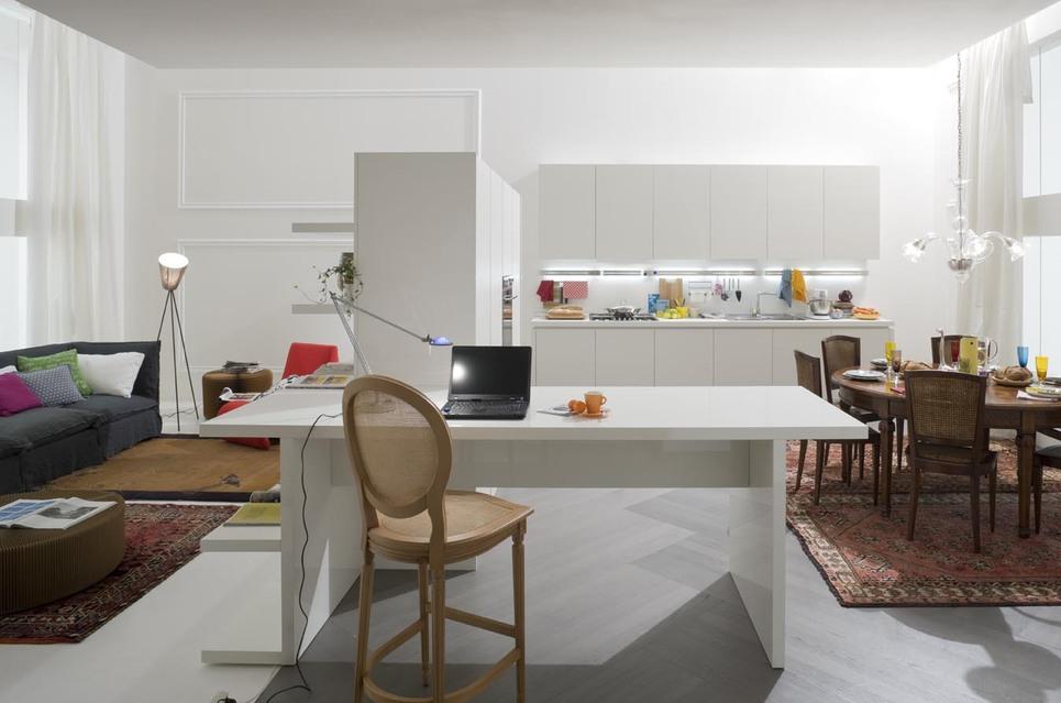 Sartoria dei mobili home page - Cucina laccato bianco ...